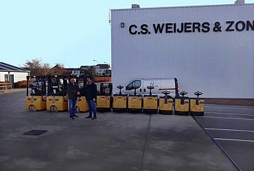 Nieuwe heftrucks en warehouse producten